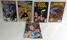 STAR TREK ORIGINAL SERIES / NEXT GENERATION : SET OF 5 DC COMICS