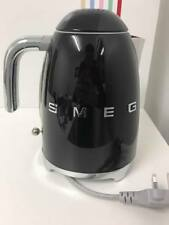 *NEW 3D Letters* Smeg KLF03BLUK Black Kettle-Customer Return+60 Day Warranty