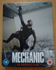 Mechanic Resurrection steelbook blu ray