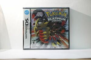 Pokemon Platinum Version (Nintendo DS, 2009) Game, FACTORY SEALED BRAND NEW