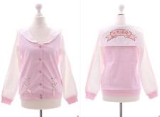 TS-40-A Rosa Sailor Bomber-Jacke Genki Sweatshirt Pastel Goth Lolita Harajuku