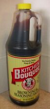 NEW Kitchen Bouquet Browning & Seasoning  Sauce 32 oz EXP Mar 2022