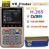 Buscador de Satélites GTMEDIA V8 Finder Meter DVB-S2/S2X Digital 3.5'' HD LCD