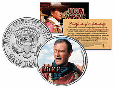 JOHN WAYNE - THE DUKE *The Searchers* JFK Kennedy Half Dollar US Coin *LICENSED*