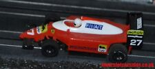 MR1 Micro Scalextric Marchon HO Slot car Ferrari F1 Fiat #27 Hard to find car