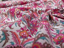 John Lewis cotton 100%, 'Chelmsford', (per metre) dress fabric, sewing,