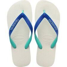 Havaianas Top Mix Unisex Flip Flops -  EU 41/42 White/Marine - Brand New In Box