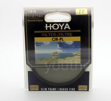 Hoya 77mm CPL CIR-PL Slim Circular Polarizing Digital Filter for Camera Lenses