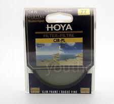 Hoya 77mm Cpl Cir-Pl Slim Circular Polarizing Digital Filter for Camera Lenses