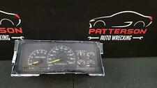 1998 CHEVY 1500 SPEEDOMETER INSTRUMENT DASH GAUGE CLUSTER ASSEMBLY 181,069 MILES