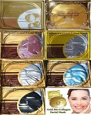 7 Kinds, Gold /Red Wine /Pearl /Black /ICE /Gold Foil Collagen Face Facial Masks
