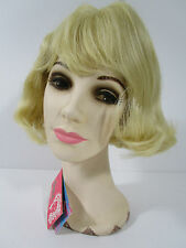 Vintage Wig SHORT Hair NWT Blonde Bangs ELURA USA #309-613 NEVER WORN