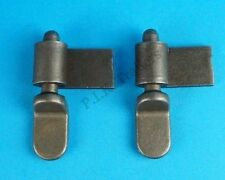 2 x 50mm Tailgate Drop Side Hinge and Weld-on Gudgeon Pin Trailer & Pickup