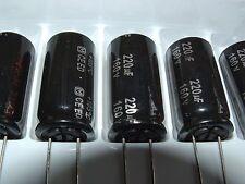 10 X 220uf 160v 105 C Panasonic eeued2c221 Condensador Electrolítico