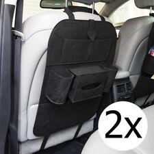 2x KFZ Auto Reise Organizer Rücksitztasche Rücklehnenschutz Rücklehnentasche