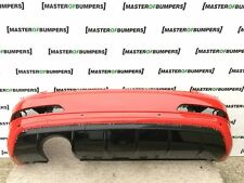 AUDI Q3RS Q3 RS 2011-2013 REAR BUMPER WITH DIFUSOR IN RED GENUINE [A176]