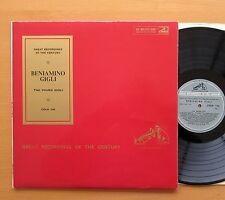 COLH 146 Beniamino Gigli The Young Gigli EXCELLENT HMV Mono + insert