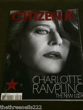 CITIZEN K - INT EDIT - SPRING 2008 - CHARLOTTE RAMPLING