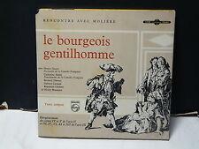 Livre disque Rencontre avec Moliere Bourgeois gentilhomme DENISE GENCE E1E 9130