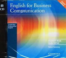 Cambridge ENGLISH FOR BUSINESS COMMUNICATION 2nd Ed Student's Book AUDIO CDs New