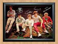 One Direction Zayn Harry Louis Liam Niall Signed Autographed A4 Print Poster