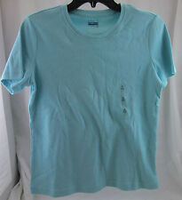 Basic Editions, Small, Aqua Short Sleeve Tee, New without Tags