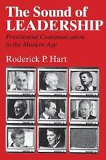 THE SOUND OF LEADERSHIP - HART, RODERICK P. - NEW PAPERBACK BOOK