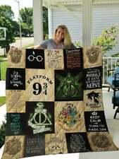 Harry Potter Gift Quilt Blanket , Fleece Blanket