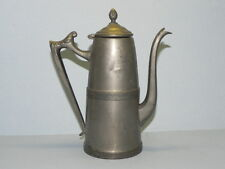 Sheffield Plate Tea/Coffee Pot_3417