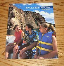 Original 2001 Bayliner Full Line Foldout Sales Brochure 01 Ciera Capri