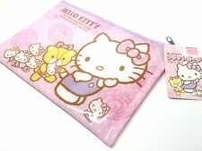Hello Kitty Pouch Cosmetic Pouch Portable Carry Pouch Purse Sanrio Kawaii DAISO