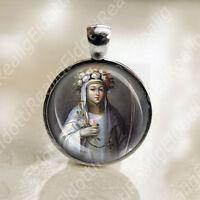St. Rose of Lima Catholic Medal. Pendant Charm Patron Saint Religious Jewelry