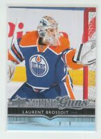 (74851) 2014-15 UPPER DECK YOUNG GUNS LAURENT BROSSOIT #458 RC