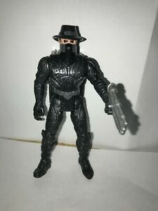 The Shadow Electronic Bullet Proof Shadow Figure Kenner 1994 COMPLETE 2 GUNS
