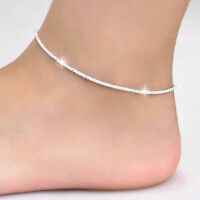 Fashion Simple Chain Anklet Women Foot Jewelry Leg Bracelet Barefoot Accessories