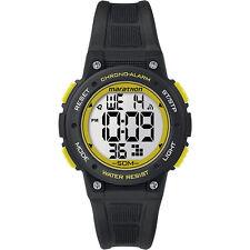 Timex TW5K84900, Unisex Marathon Black Resin Watch, Indiglo, Alarm, Stopwatch