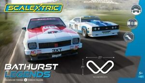 Scalextric Bathurst Legends Slot Car Set (Incl Holden A9X & Ford XC Falcon)