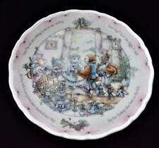 "1987 ROYAL DOULTON England OWL & PUSSY-CAT Coll Porcelain DEAR PIG 8 1/2""d Plate"