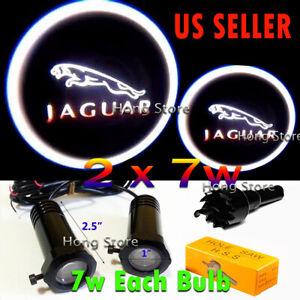 2x7w Jaguar Ghost Shadow Projector Laser Logo LED Courtesy Door Step Lights