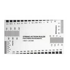 New Electric Guitar String Action Ruler Luthier Builder Tool Configuration AU