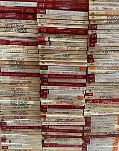 Lot 15 All Harlequin Presents Romance Paperback Novels Random Mix