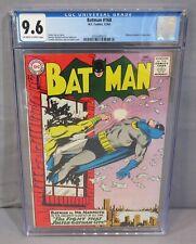 BATMAN #168 (Highest Graded Copy on Census) CGC 9.6 NM+ shape DC Comics 1964