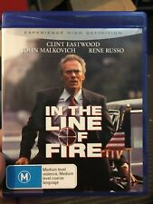 In The Line Of Fire BLU RAY (1993 Clint Eastwood thriller movie) rare