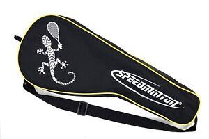 Speedminton set Includes two rackets, case and three birdies [READ DESCRIPTION]