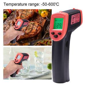 Non-Contact IR Laser Infrared Digital Temperature Thermometer Gun-Pyrometers Hot