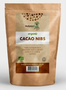 Certified Organic Raw Cacao / Cocao Nibs - Criollo Variety Top Quality ALL SIZES