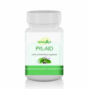 Pyl-Aid 60 Capsules 500mg - Haemorrhoids   Piles - Free Shipping   UK Seller