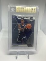 2019-20 Panini Mosaic Ja Morant NBA Debut BGS 9.5 Gem Mint Grizzlies