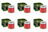 Suzuki DRZ 400 2000 - 2020 Oil Filter Set HiFlofiltro HF139 Pack of 6