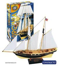 """Beautiful, brand new wooden model ship kit by Constructo: the """"Virginia"""""""